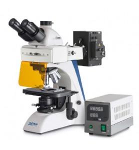 Microscope à lumière transmise fluorescente KERN OBN 147