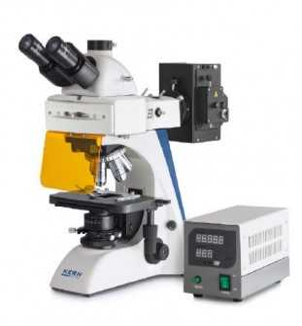 KERN OBN 147 Fluoreszierende Durchlichtmikroskop