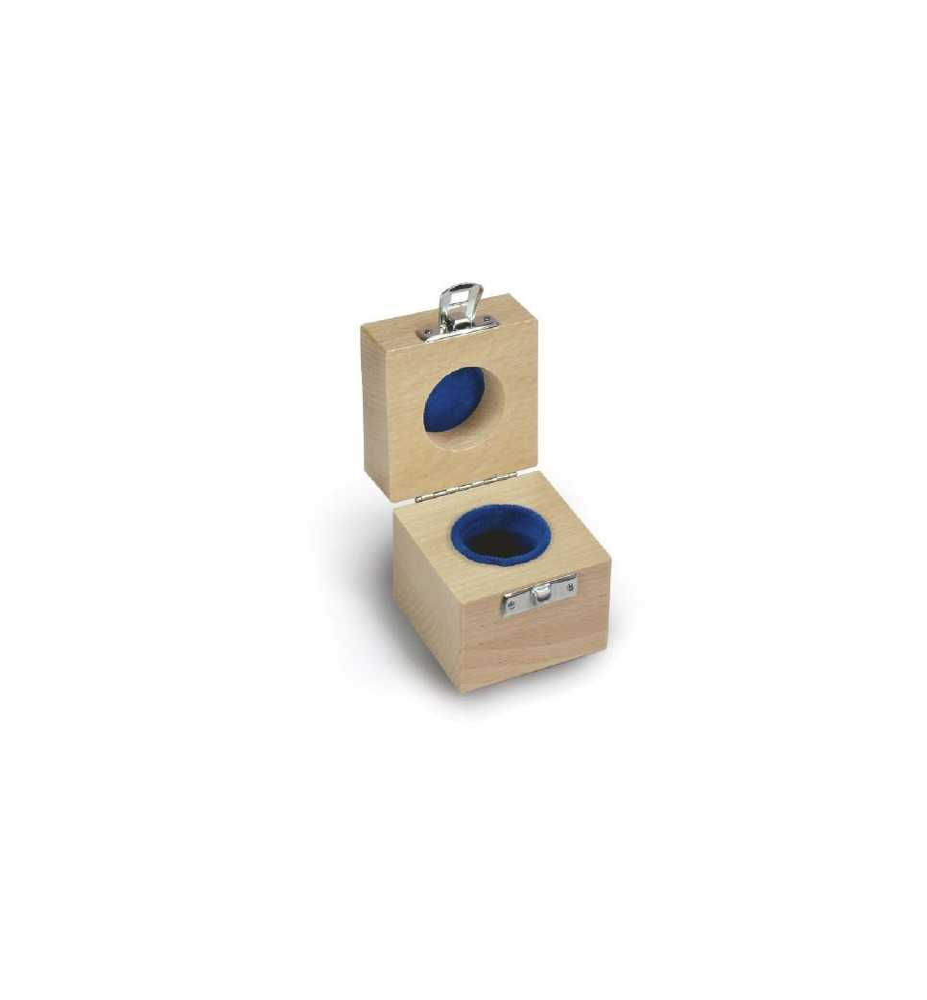 KERN 317-080-100 Holz-Etui für Einzelgewichte