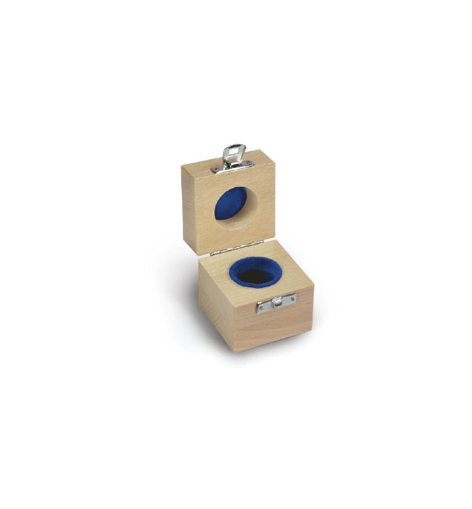 Valigetta in legno per pesi singoli fino a 2 kg