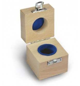 KERN 317-140-100 valigetta in legno per pesi singoli