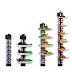 ADE WM 6 piastre impilabili modello da parete