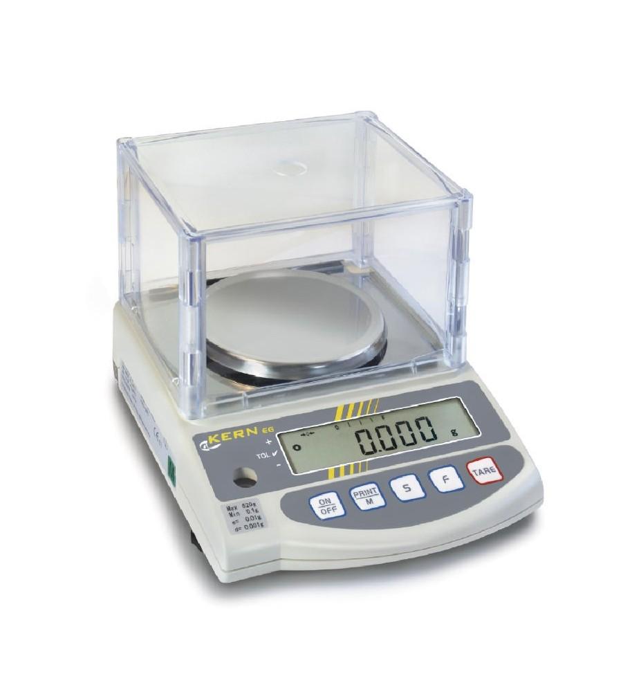 Bilancia di precisione KERN EW 620-3NM con sistema di pesatura a diapason