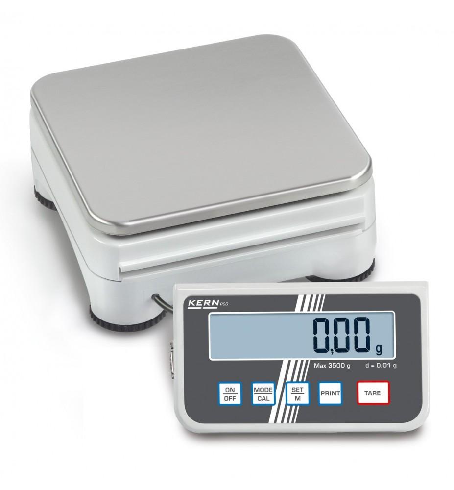 Balance de précision haute résolution KERN PCD 3000-2