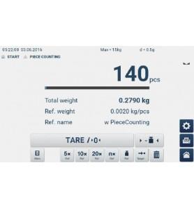 KERN GAT 6K-4 Tischwaage mit Touchscreen