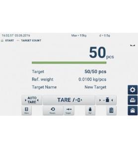 KERN GAT 30K-3 Tischwaage mit Touchscreen