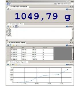 Software di connessione alla bilancia KERN SCD-4.0