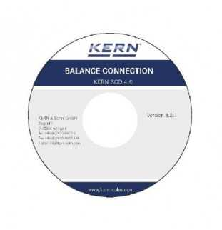 KERN SCD-4.0 Balance Connection Software