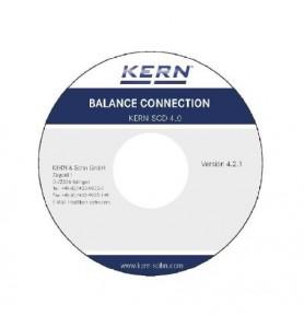 Logiciel de connexion de balance KERN SCD-4.0
