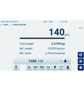 Bilancia a piattaforma KERN IFT 60K-3
