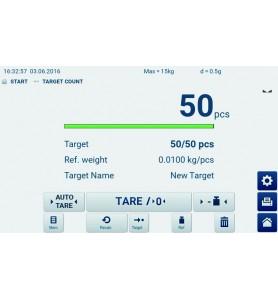 Balance plate-forme KERN IFT 60K-3L avec écran tactile