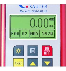 Appareil de mesure de l'épaisseur du matériau SAUTER TU 80-0.01US.