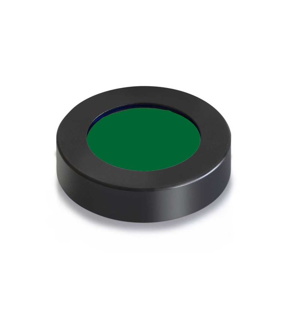 Filtro colorato per luce trasmessa verde