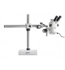 Set microscopio stereo zoom KERN OZL 461