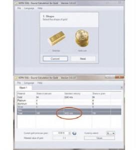 Goldtestgerät SAUTER TN GOLD 80