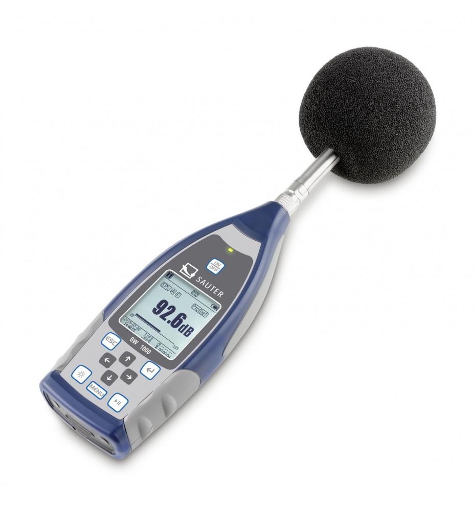 Schallpegelmessgerät SAUTER SW 2000