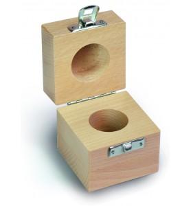 Caisse en bois pour poids individuels de 5 g