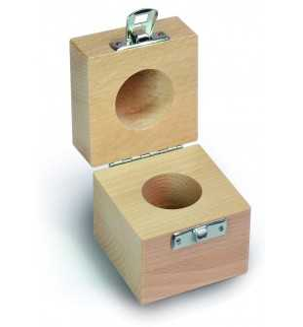 Holz-Etui für Einzelgewichte 337