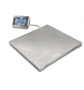Bilancia da pavimento in acciaio inossidabile KERN BFN 600K, calibrata