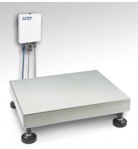 Wägeplattform mit A/D-Wandlerbox KGP 10K-4
