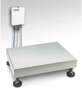 Wägeplattform mit A/D-Wandlerbox KGP 10K-4L