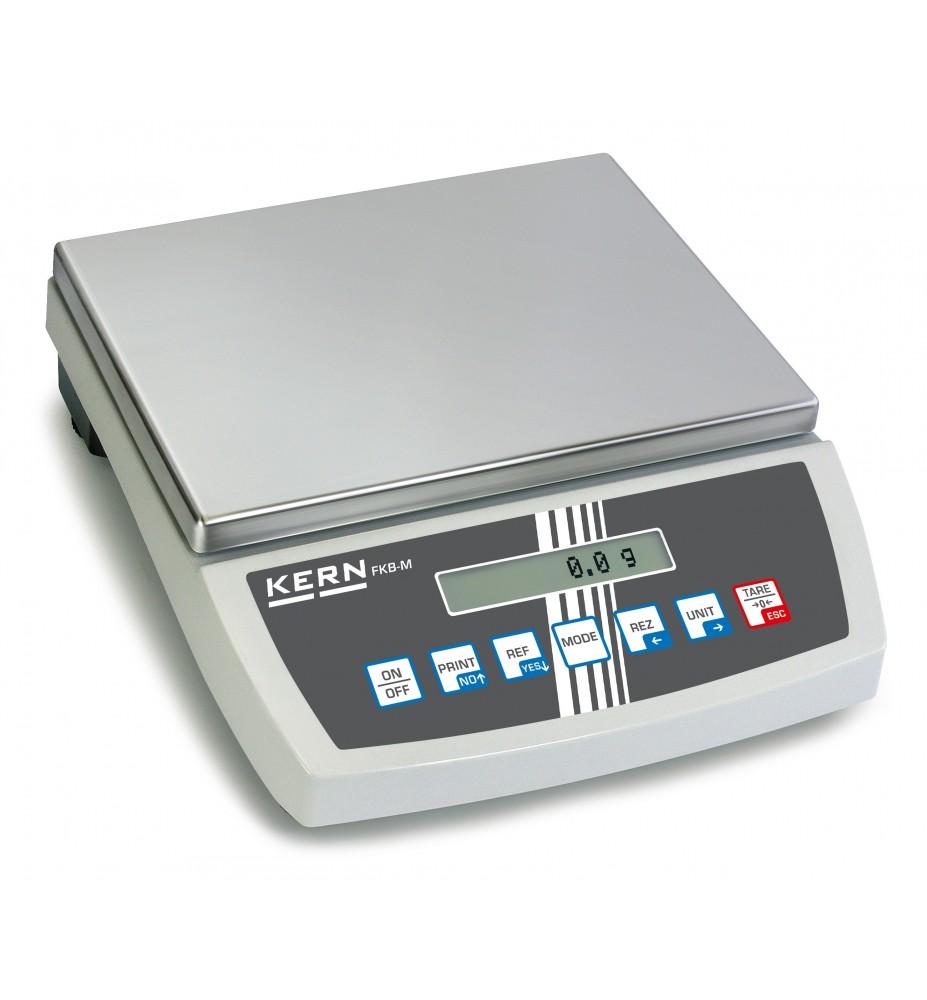 Balance de table haute résolution KERN FKB 6K0.02