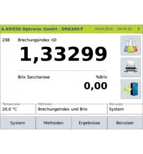 Digitaler Refraktometer KRÜSS DR6200-T