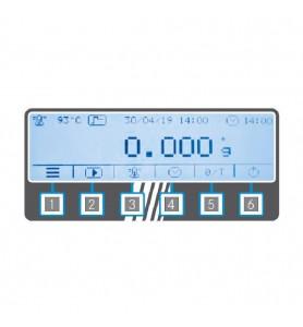 Misuratore d'umidità KERN DLB 160-3AN