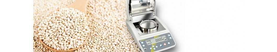Analyseur d'humidité, humidimètre et balance pour analyseur d'humidité