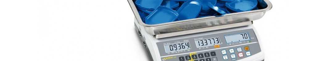 Bilance contapezzi e sistemi di conteggio ad alta risoluzione per il controllo della quantità in giacenza