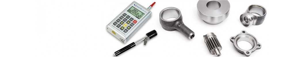 Härteprüfung von Metallen (Leeb)