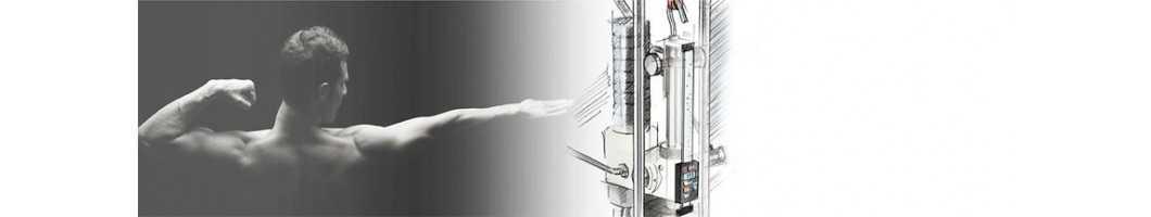 Pied à coulisse de précision pour installation dans des machines et des installations