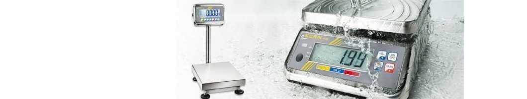 Bilance in acciaio inossidabile con un ampio campo di pesata e un elevato grado di protezione IP67