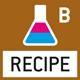 Rezeptur-Level B: Interner Speicher für komplette Rezepturen mit Name und Sollwert der Rezeptur-Bestandteile. Displayunterstützte Benutzerführung.