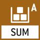Summier-Level A: Die Gewichtswerte gleichartiger Wägegüter können aufaddiert und die Summe ausgedruckt werden