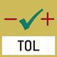 Wägen mit Toleranzbereich: (Checkweighing) Oberer und unterer Grenzwert programmierbar, z. B. beim Sortieren und Portionieren.