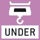 Unterflurwägung: Möglichkeit der Lastaufnahme an der Waagen-Unterseite.