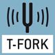 Stimmgabel-Prinzip: Ein Resonanzkörper (Stimmgabel = Tuning Fork) wird durch eine elektromagnetische Anregung in Schwingung versetzt. Die Messwertermittlung erfolgt über die Änderung der Fr