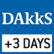 DAkkS-Kalibrierung möglich. Die Dauer der Bereitstellung der DAkkS-Kalibrierung ist im Piktogramm angegeben.